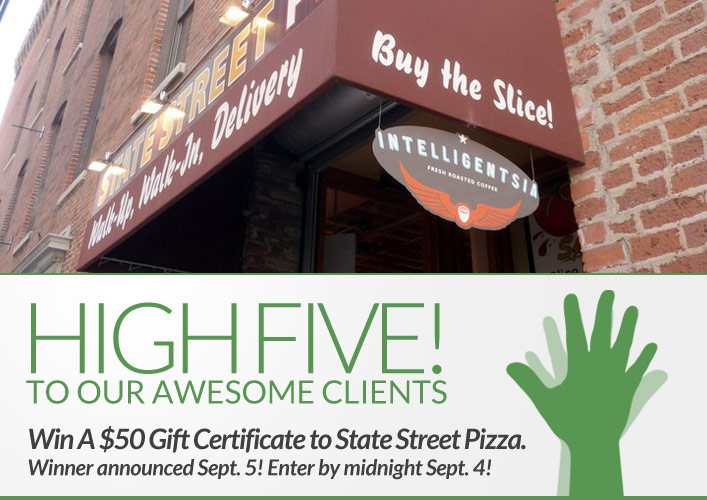 State Street Pizza Giveaway