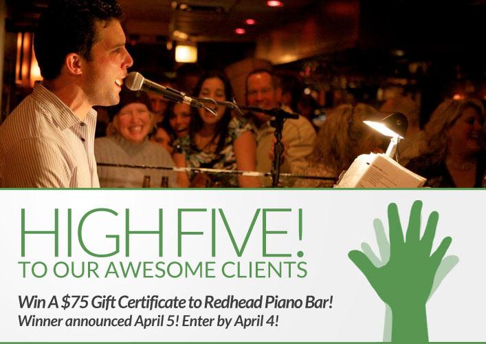 Redhead Piano Bar Contest