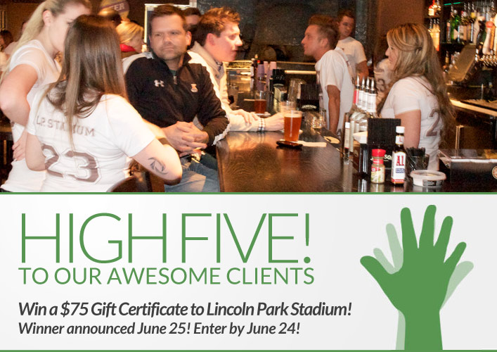 Lincoln Park Stadium giveaway