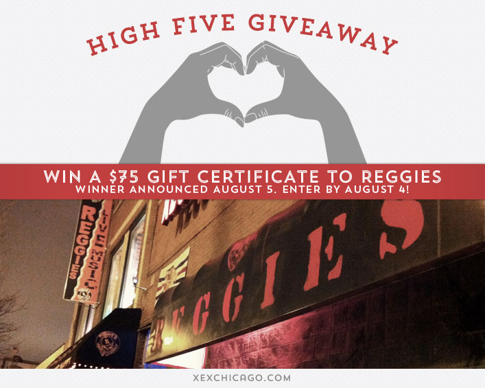 Reggies Chicago Giveaway