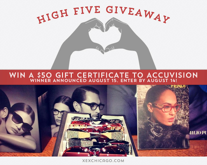 AccuVision Giveaway