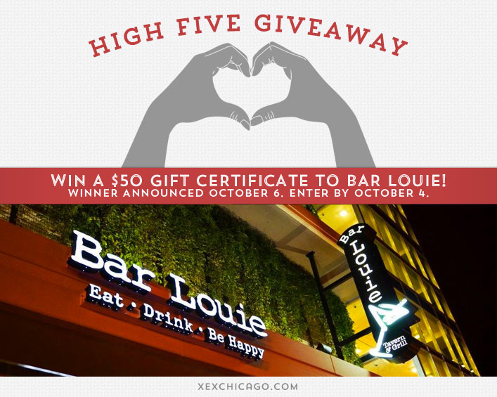 Bar Louie Giveaway