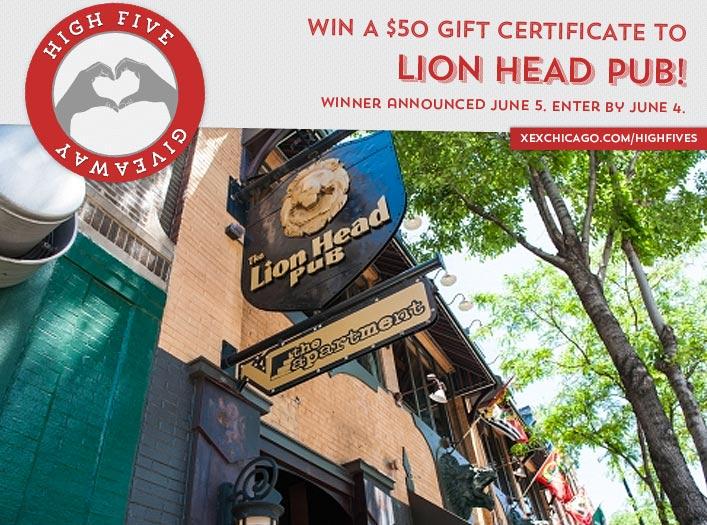 Lion Head Pub Giveaway