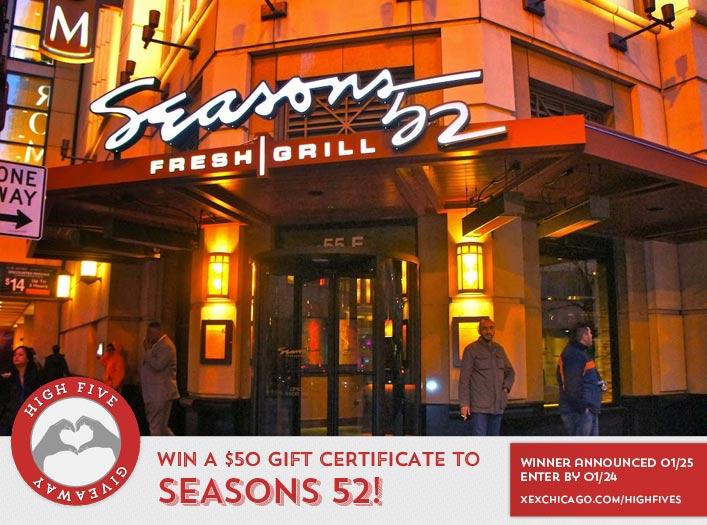 Seasons 52 Website