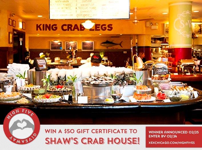 Shaws Crab House Website